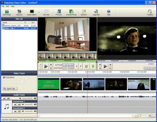 VideoPad Video Editor 2.06