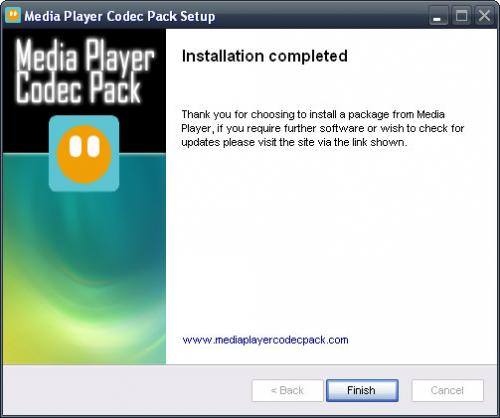 Media Player Codec Pack 3.9.6