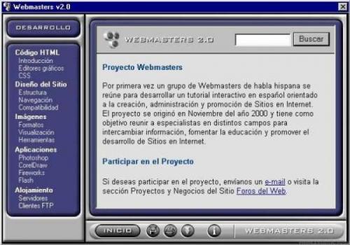 Webmasters Tutorial 2.0