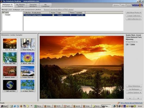 WebShots Desktop 3.0.0.7231