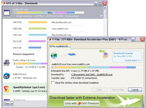 Download Accelerator Plus (DAP) 9.4.0.7