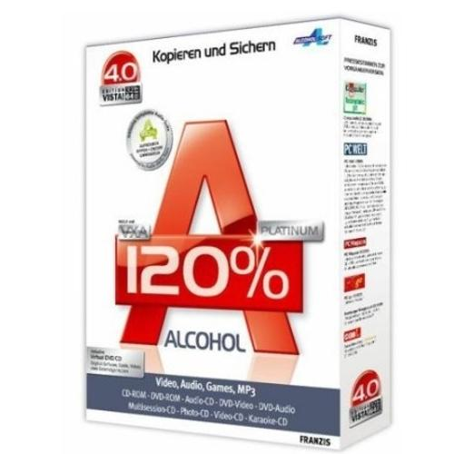 Alcohol 120% - Scarica 2.0.1.2033