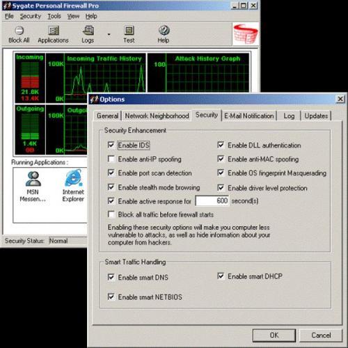 Sygate Personal Firewall Standard 5.6.2808.0