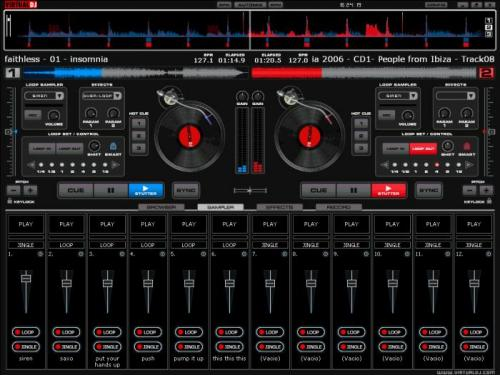 Crea le tue jam session con Virtual DJ 8.0.2139