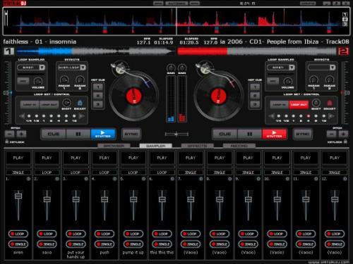 Crea le tue jam session con Virtual DJ 8.0.2139