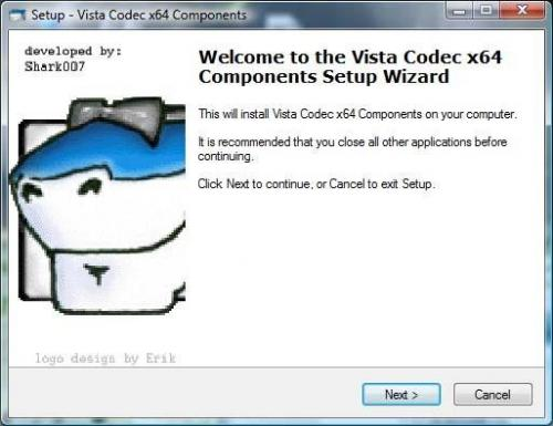 Vista Codec Package 5.1.2