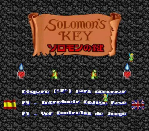 Solomon's Key Remake 1.0