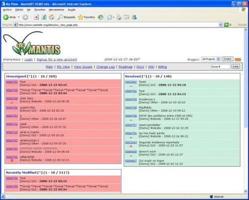 Bitnami Mantis Stack 1.1.6-0