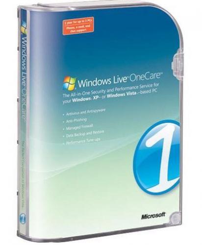 Windows Live OneCare 2.5.2900.20