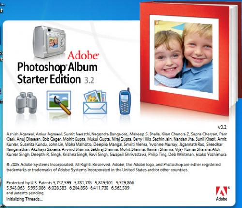 Adobe Photoshop Album SE 3.20