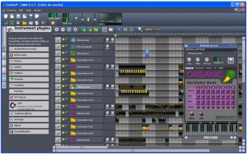 Linux MultiMedia Studio 0.4.3
