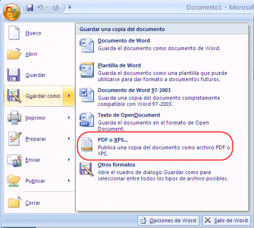 Service Pack para Microsoft Office 2007 SP2