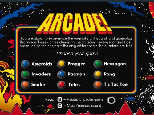 Arcade! Classic Arcade Pack 3.7.0