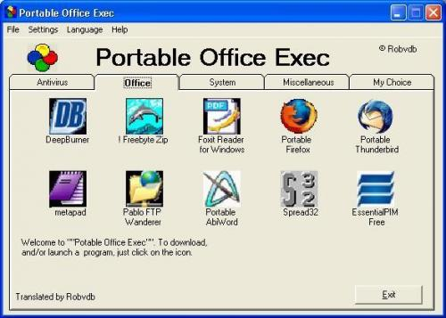 Portable Office Exec 1.1.7