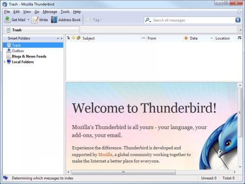 Mozilla Thunderbird - Scarica 5.0