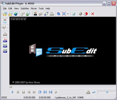 SubEdit Player Build 4072