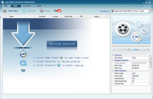 Any Video Converter , download, analisi, immagini, commenti, opinioni e revisioni relativi a Any Video Converter 3.25