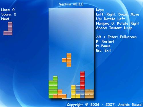 Vertris 0.3.2