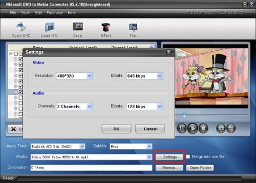 Nidesoft DVD to MP4 Converter 5.2.18