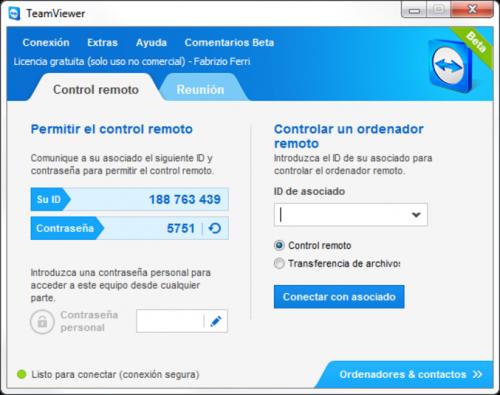 TeamViewer 5.0.8703
