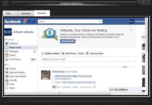 Facebook Desktop 1.0b Final