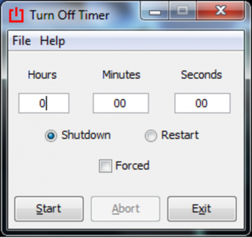 Timed Shutdown 0.51b