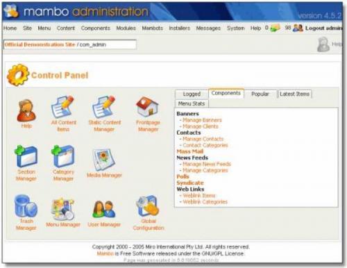 Mambo 4.6.5