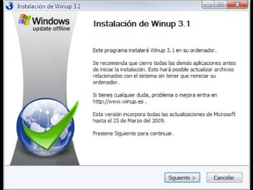 WinUp 3.1