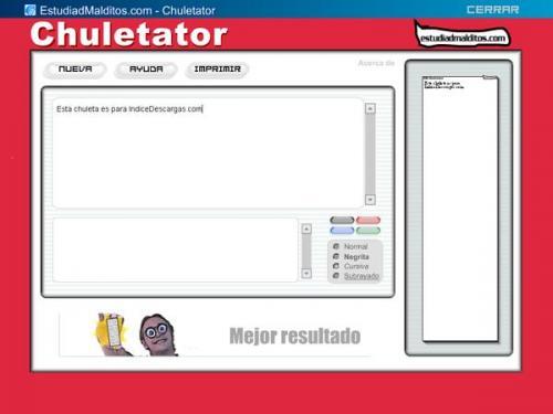 Chuletator 1.0.7345
