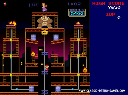 Donkey Kong Remake 1.0