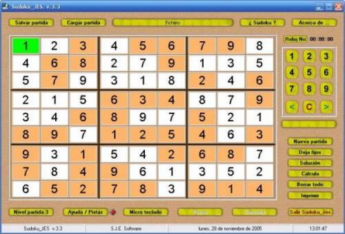 Sudoku Jes 4.0